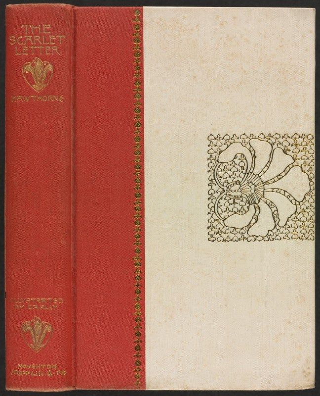 The scarlet letter [Spine and front cover] - Digital Commonwealth