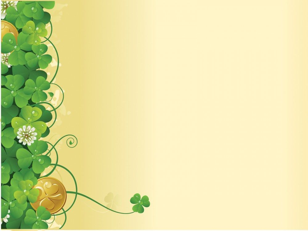 Green flower ivy spring PPT Backgrounds - Flowers, Nature ...