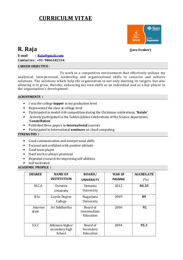 resume sample cma fresher. fresher resume sample. freshers testing ...