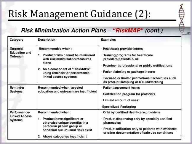 risk management plan example | proposal forms templates