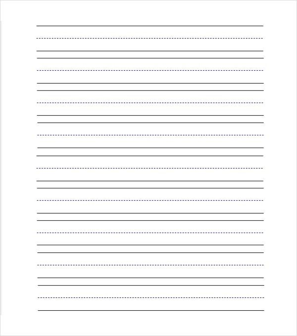 Lined Paper Template. Christmas Lined Paper Template 11+ Line ...