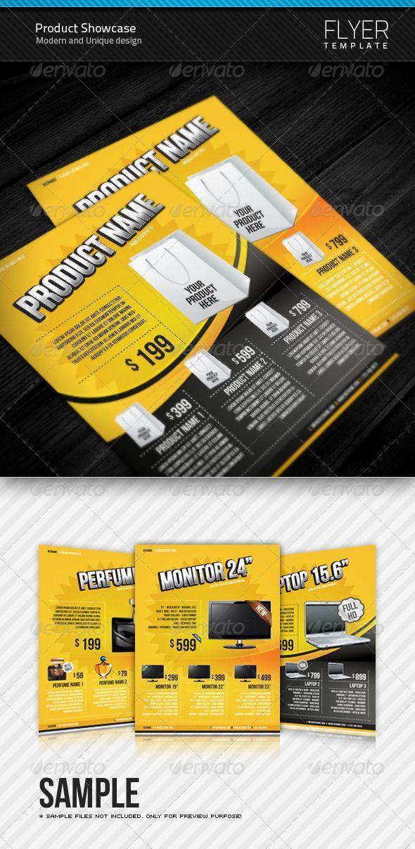 89 best Product Promotion Flyer / Commerce / Flyer / Print ...
