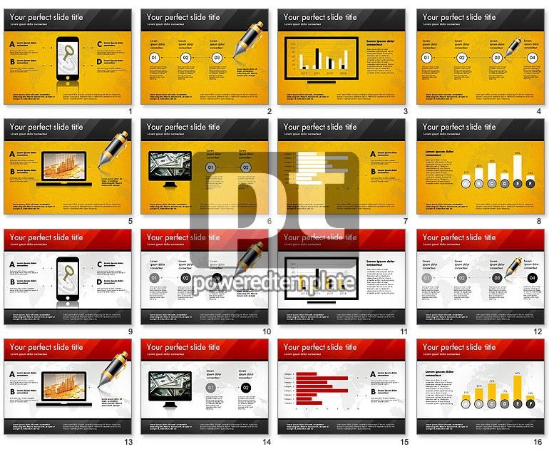 Pitch Deck Presentation Template for PowerPoint Presentations ...