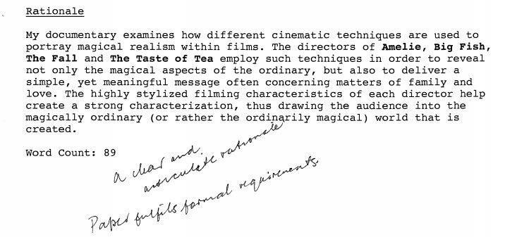 Independent Study - Seminole Cinema: SEHS Film