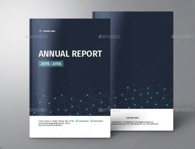 20+ Premium Annual Report Templates - Webprecis