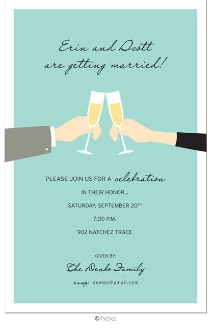 engagement party invites? | My dream wedding! | Pinterest ...