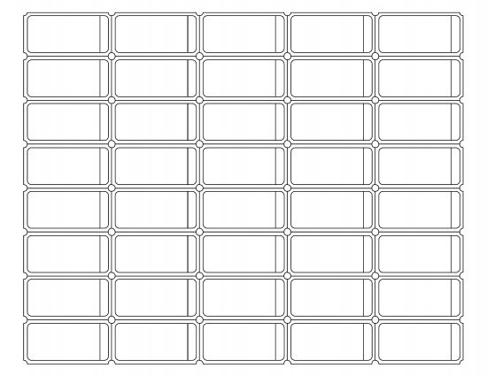 Download Blank Printable Raffle Ticket Template | PDF ...