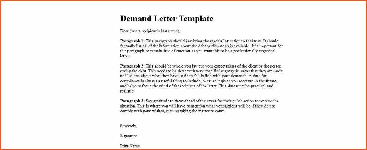 pre lawsuit demand letter. georgia 3 day demand for possession ...