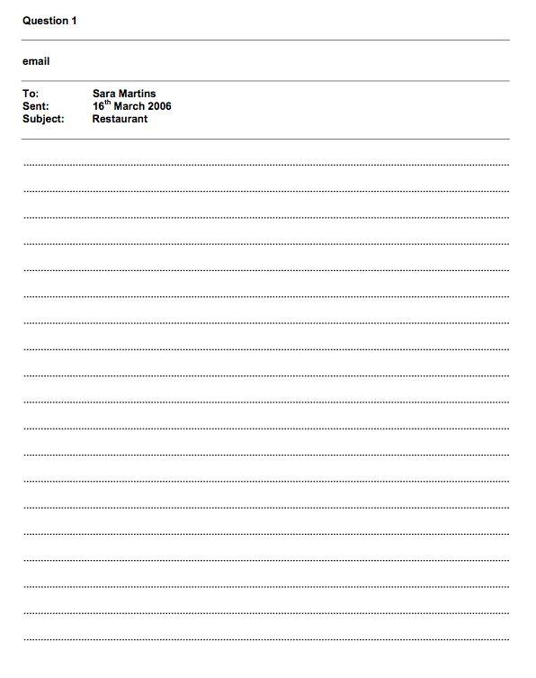 Full Sample Writing Paper   4th Medio English - FCE Programme 2014