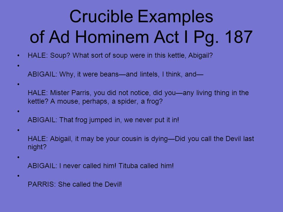 Ad Hominem April Reprogle Brian Hodges Kayce Russell. - ppt download