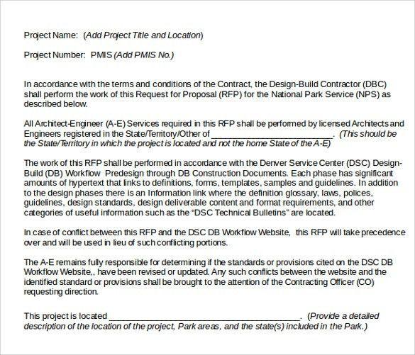 sample construction proposal