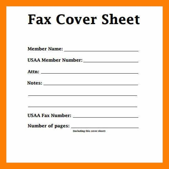 7+ fax cover sheet template | students resume