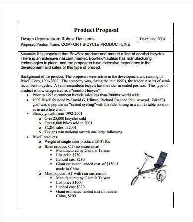 Sales Proposal - 8+ Free PDF Documents Download | Free & Premium ...