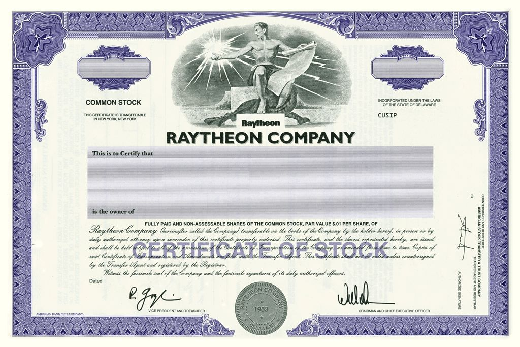 Stock Certificates - Patrick and Monica