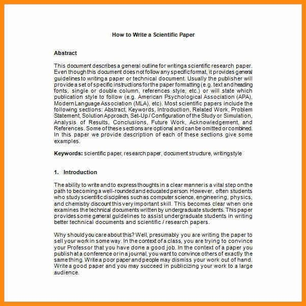 10+ research paper introduction example   model resumed