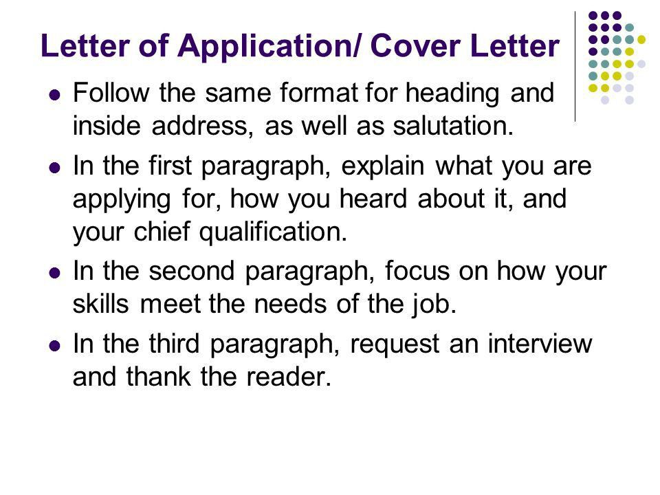 Writing the Business Letter (from Write for College, pages ) - ppt ...
