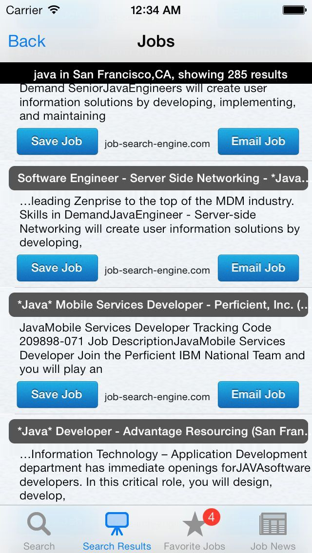 Jobtastic - The ultimate free job search app App Ranking and Store ...