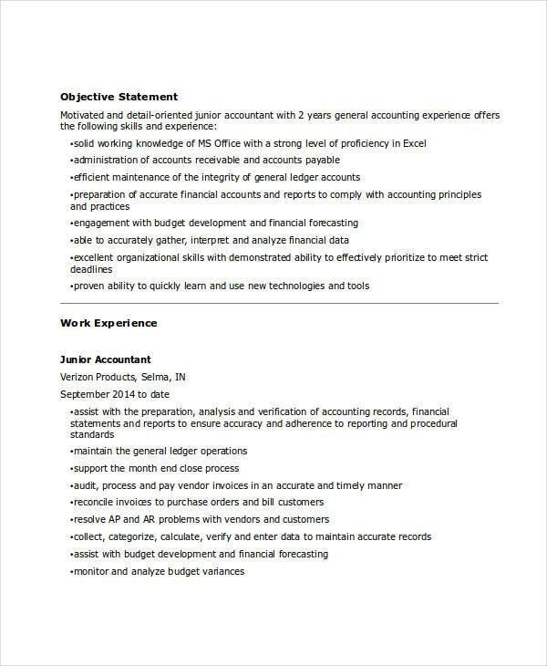 31+ Accountant Resume Samples | Free & Premium Templates