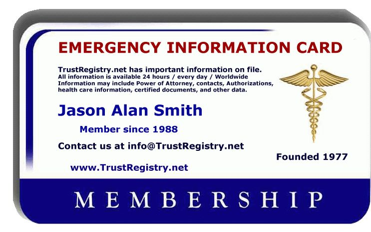 TrustRegistry .net; Record Register Official Trust Registry ...