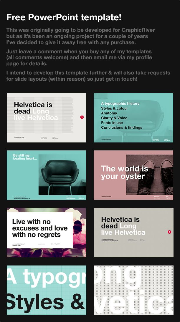 RetroGrade PowerPoint Template by DMXdesign   GraphicRiver
