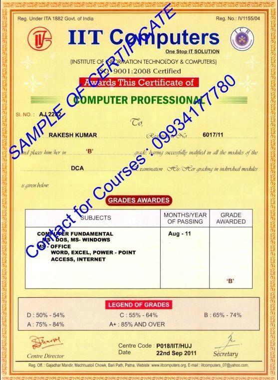 DCA Certificate Sharda Computer 9934177780 | Sharda Computer… | Flickr