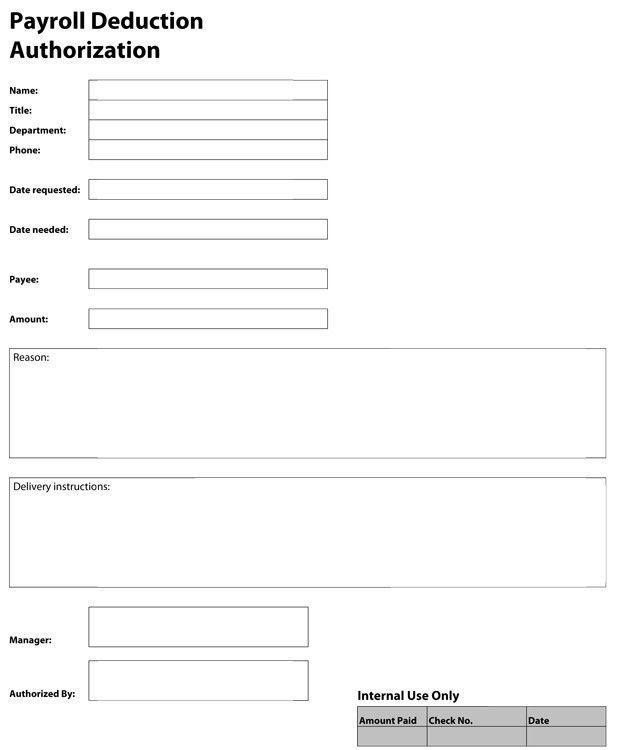 PDF Templates | Construction Templates