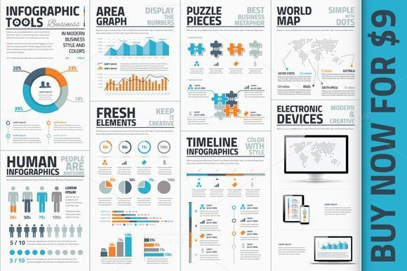 Check out Premium Infographic Vector Template by Desigggner on ...