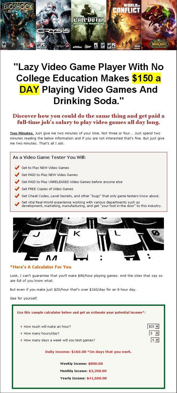 Gamer Testing Ground Full Review - Game Tester eBooks