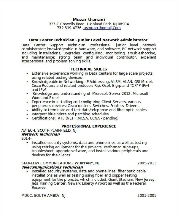 Junior Technician Resume Unforgettable Automotive