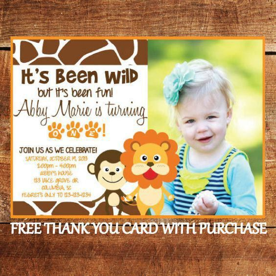 17+ Safari Birthday Invitations Design Templates + Free Printable ...