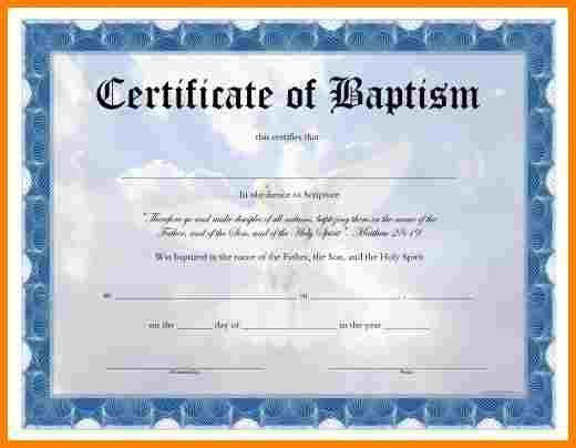6+ baptismal certificates template | inventory count sheet