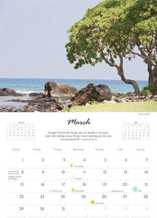 calendar design | designbyindigo.com