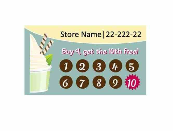 Punch Cards Template. dog grooming customers rewards punch cards ...