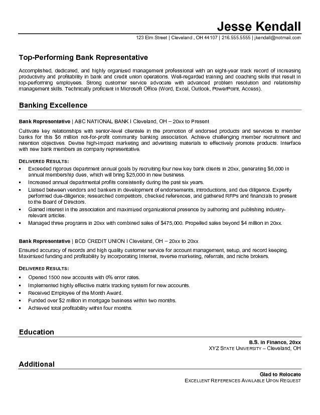 Bank Teller Resume. Entry Level Bank Teller Resume Objective Entry ...