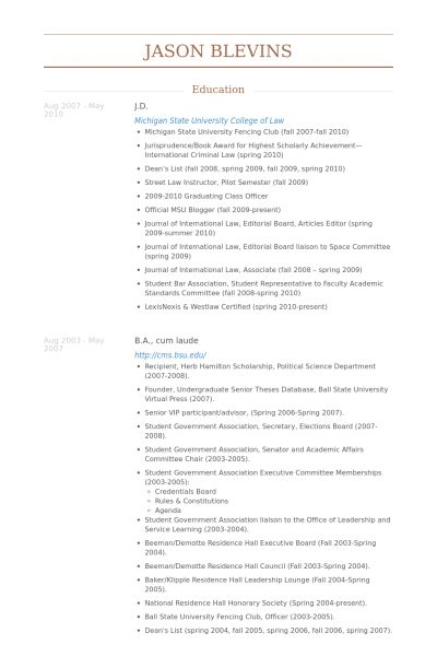 associate attorney resume sample \u2013 foodcityme