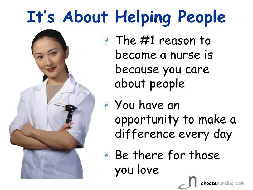 NURSES Can Do Anything! choosenursing.com. - ppt download