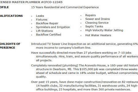 cover letter apprenticeship resume best apprentice plumber resume ...