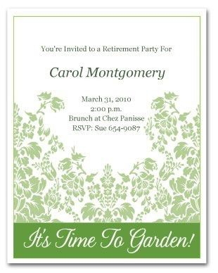 free printable retirement party invitations badbryacom - Free Printable Retirement Party Invitations