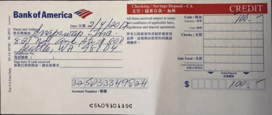 Checks Template Deposit Slip Template For Students Free Check ...
