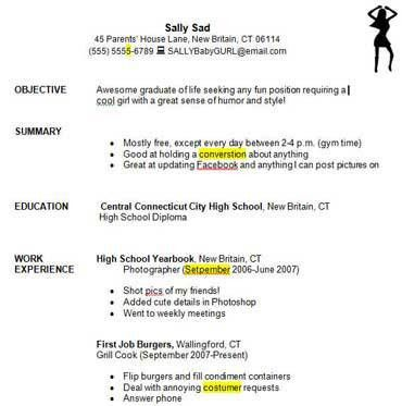 Tremendous How To Write A Student Resume 7 For High School ...