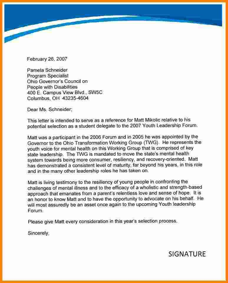 Recommendation Letter For Student. Scribendi Com | This Editable ...