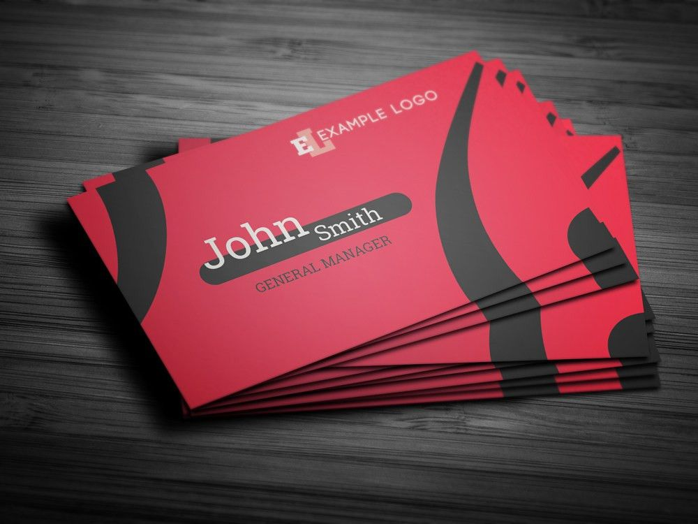 Professional-looking Photoshop Business Card Template Ideas