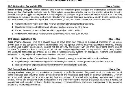 Supply Chain Resume Samples Sample Professional Military Resume ...