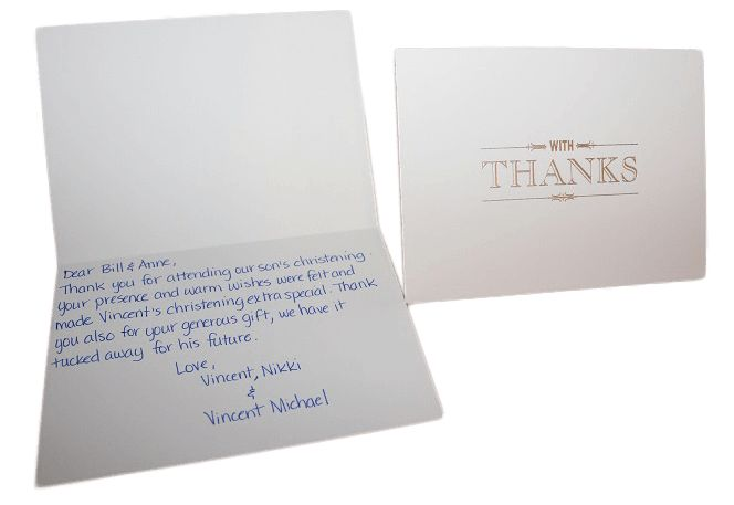 Handwritten Thank You Cards - Letter Friend Direct Mail