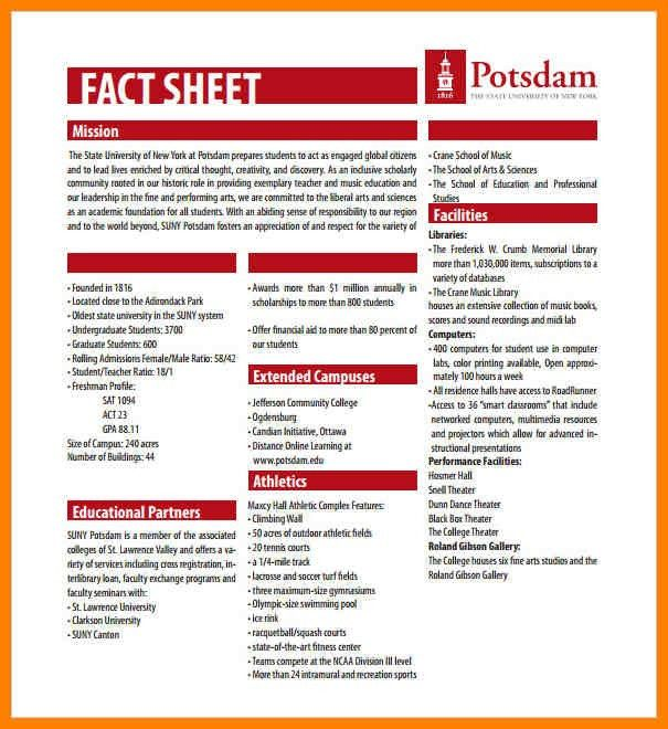 5+ fact sheet template | resigning letter