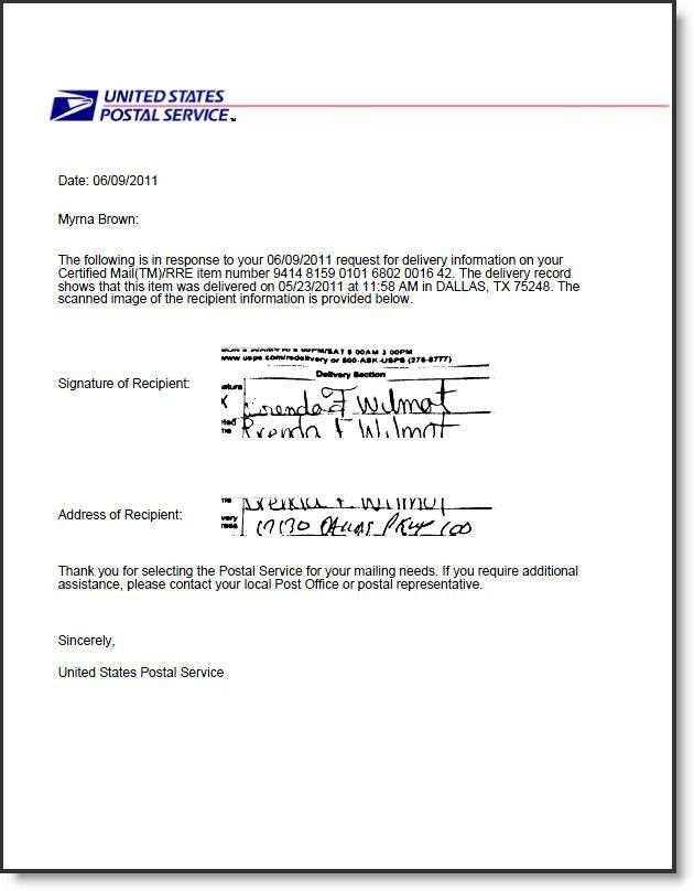 Certified Mail Labels :: Return Receipt Electronic USPS Certified Mail