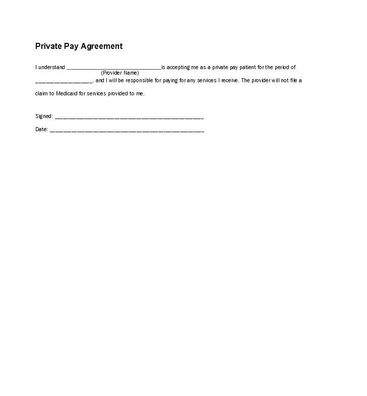 11 Best Images of Promise To Pay Agreement Template - Promise to ...