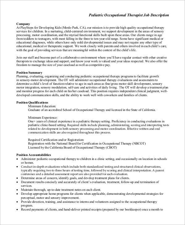 pediatrician job description pediatrician coordinator job