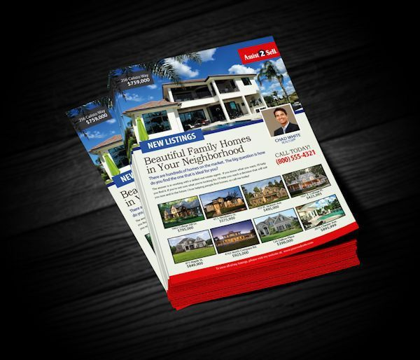 Assist 2 Sell Flyers | Realty Cards Printing