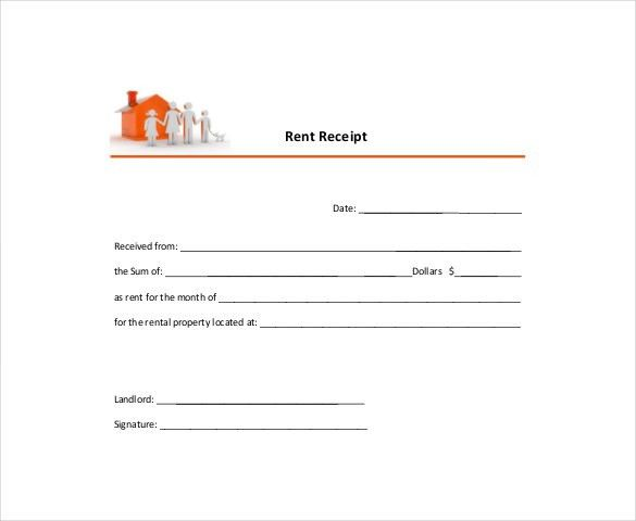Download Rental Receipt Template Free | rabitah.net